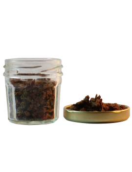 Pot en verre de Propolis, antiseptique naturel